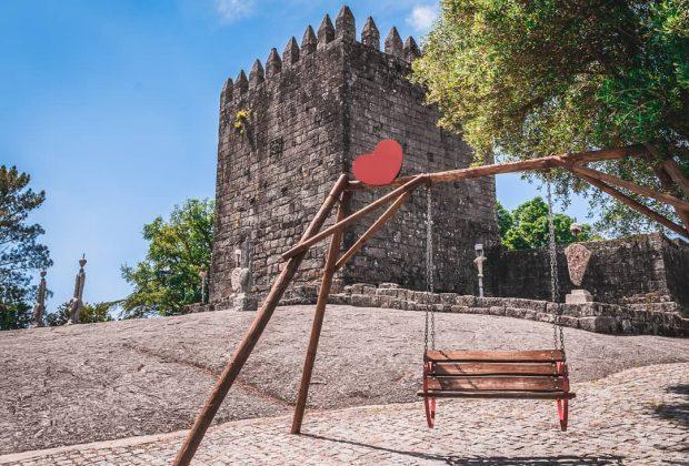 Baloiço do Castelo de Lanhoso